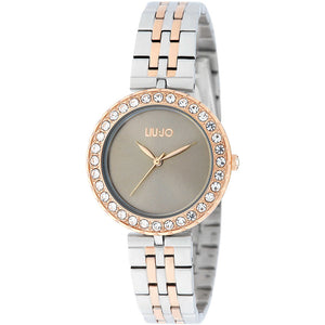 Orologio Donna Crystal Chic Silver Rose Gold Liu Jo Luxury
