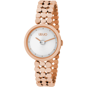 Orologio Donna Crystal Eye Gold Rose Liu Jo Luxury