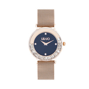 Orologio Donna Dancing Slim Gold Rose Nero Liu Jo Luxury