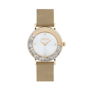 Orologio Donna Dancing Slim Gold Silver Liu Jo Luxury