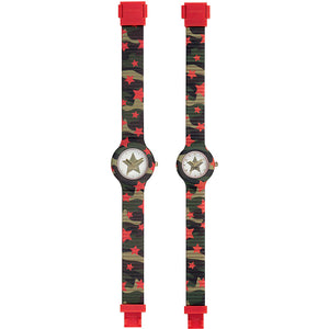 Orologio Donna Doppio Little Me Star HK0046 Hip Hop