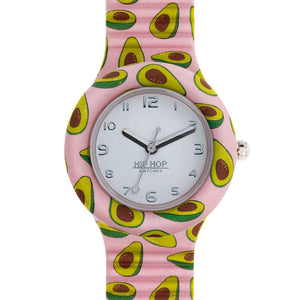 Orologio Donna Food Loves Avocado HWU0869 Hip Hop