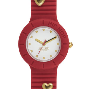 Orologio Donna Heartbreakers Rosso HWU0854 Hip Hop