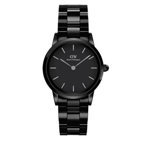 Orologio Donna Iconic Link Ceramic Nero Daniel Wellington