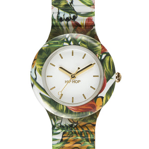 Orologio Donna Jungle Fever Bianco HWU0785 - Hip Hop