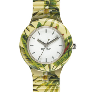 Orologio Donna Jungle Fever Giallo HWU0779 - Hip Hop