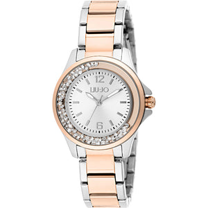 Orologio Donna Mini Dancing Gold Rose & Silver Liu Jo Luxury
