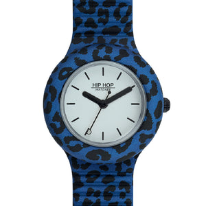 Orologio Donna Pop Jungle Leopardato Blu HWU0934 Hip Hop