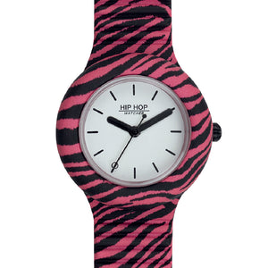 Orologio Donna Pop Jungle Zebra Rosa Pop HWU0936 Hip Hop