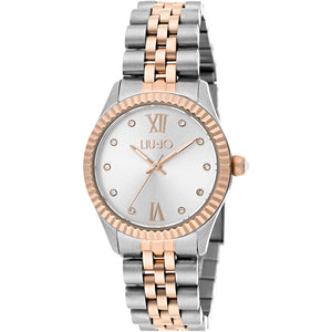 Orologio Donna Tiny Gold Rose & Bianco Liu Jo Luxury