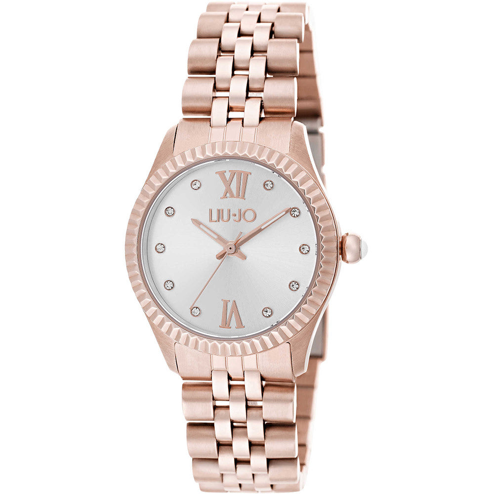 Orologio Donna Tiny Gold Rose TLJ1139 - Liu Jo Luxury - Gioielleria ... 18f28322f27