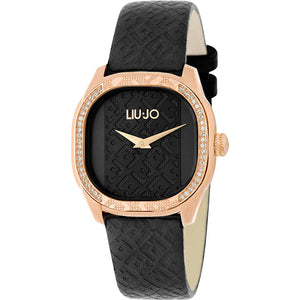 Orologio Donna Trama Nero Rose Gold Liu Jo Luxury