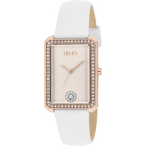 Orologio Donna Unique Brill Bianco Rose Liu Jo Luxury