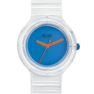Orologio Unisex See Through Light Blue HWU0939 Hip Hop