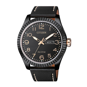 Orologio Uomo Acciaio Eco Drive Urban Of Collection Nero Citizen