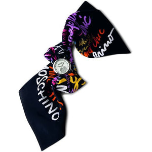 Moschino Orologio da Polso Cheap and chic Donna Cinturino Seta MW0232