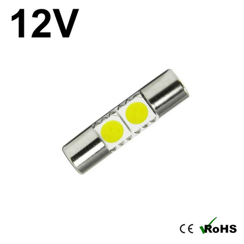 12v 28mm Fuse Festoon LED Bulb