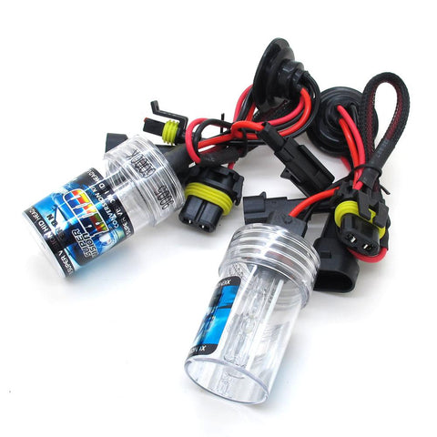 35w H10 Metal Base HID Bulbs (PAIR)
