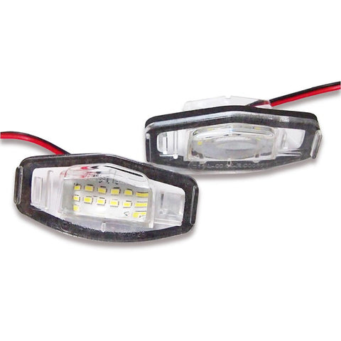 Honda Octavia LED Plate Housings (PAIR)