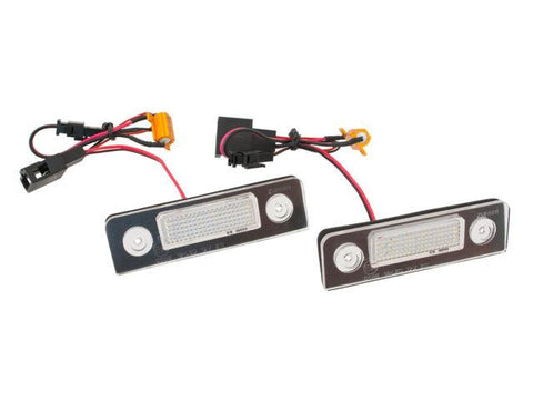 Skoda Octavia LED Plate Housings (PAIR)