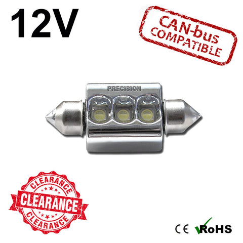 12v 36mm 6w Osram Festoon LED Bulb (canbus)