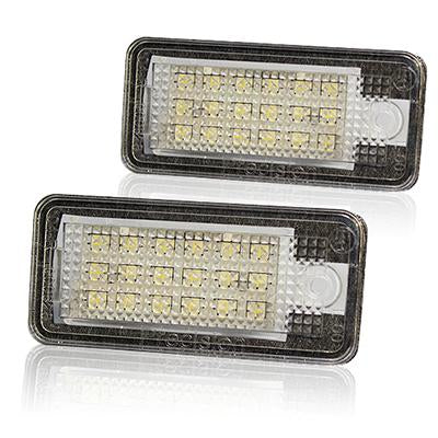 Audi LED Plate Housings (PAIR)