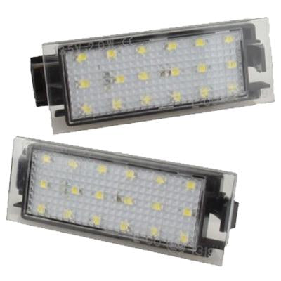 Renault LED Plate Housings (PAIR)