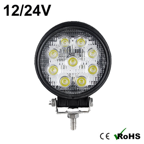 27w Round Cree LED Work Light