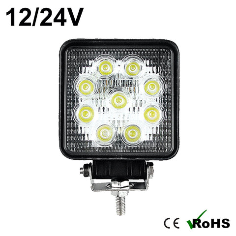 27w Square Cree LED Work Light