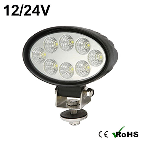 24w Oval Cree LED Work Light