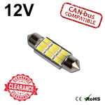 12v 36mm Ultra Bright Festoon LED Bulb (canbus)