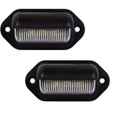 Universal LED Plate Housings 12/24v (PAIR)