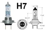 H7 477 55w Limastar Xenon White Halogen Bulbs (PAIR)