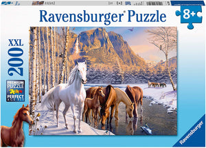 200 pc Winter Horses