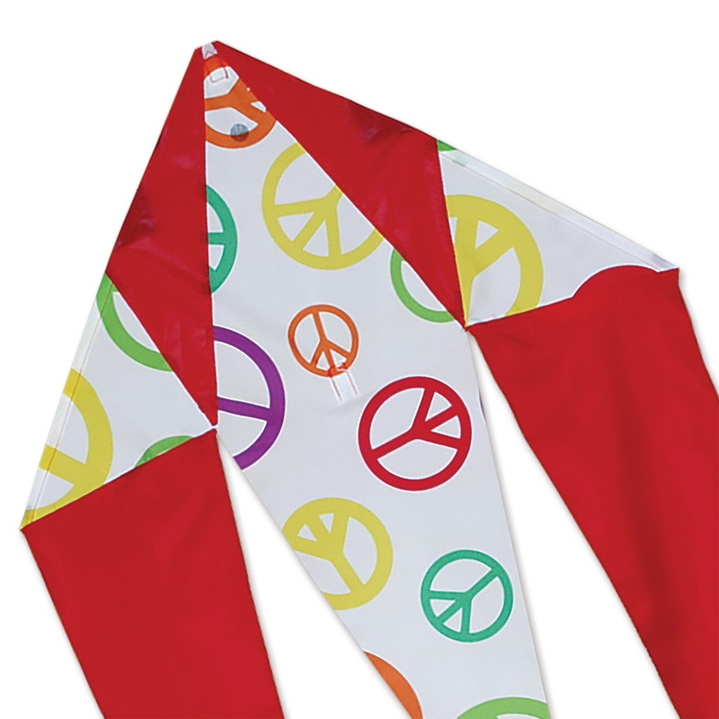 Peace Signs Mini Flo-Tail Kite