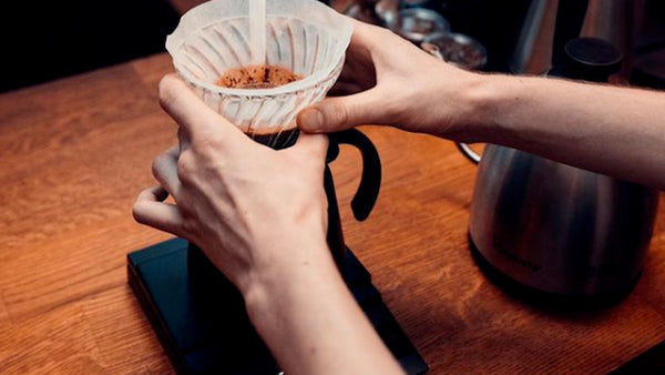 Brewing With Hario V60 Coffee Maker