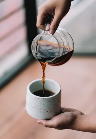 Serving Pour Over Coffee
