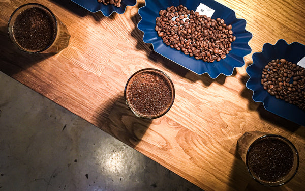Coffee Cupping At Soma Coffee Company