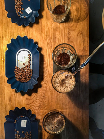 Soma Production Coffee Cupping
