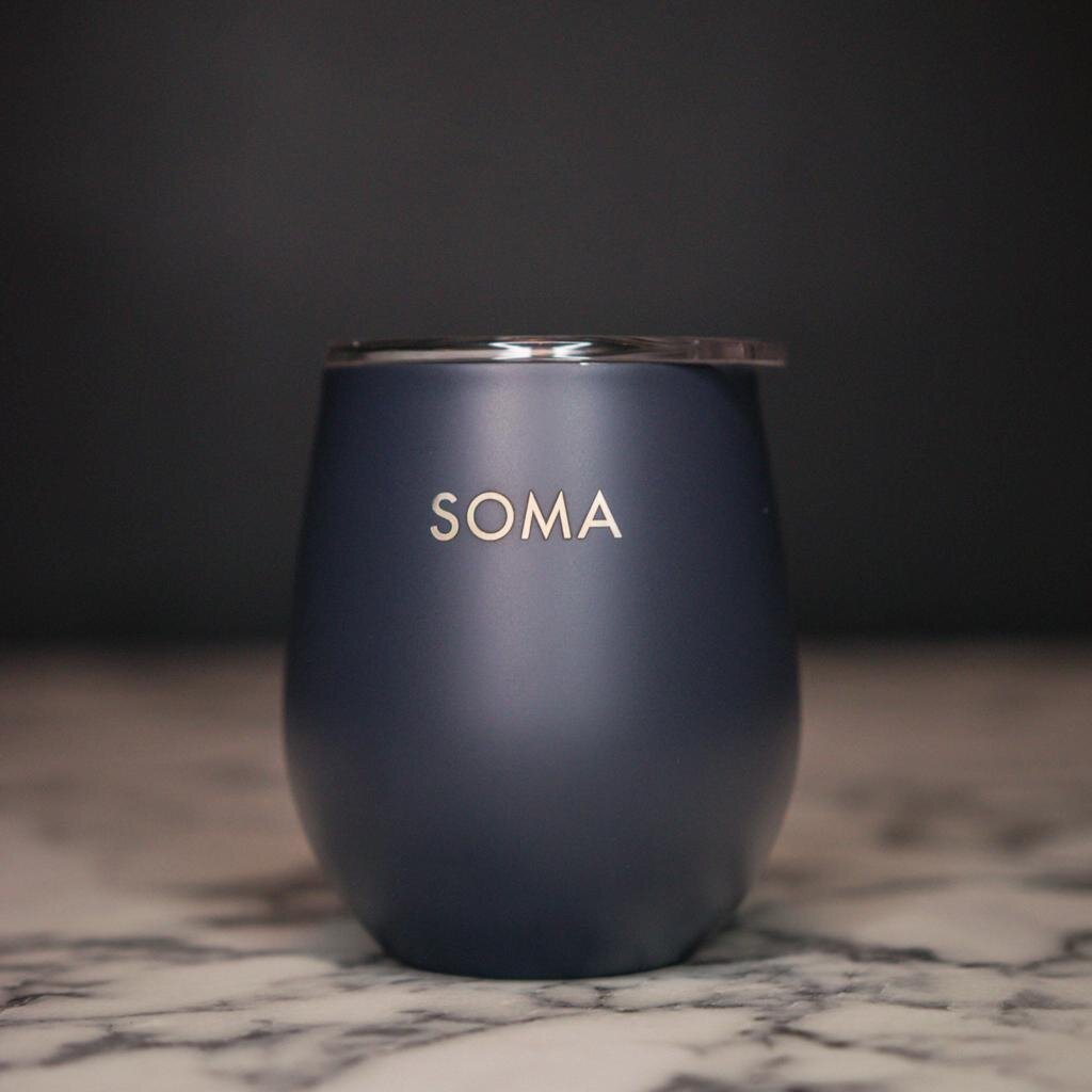 8oz Tapio Reuseable Cup With SOMA Logo