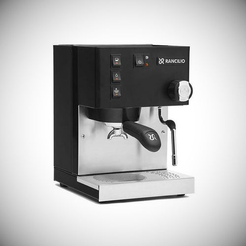 Rancilio Silvia Home Espresso Machine Black Angle