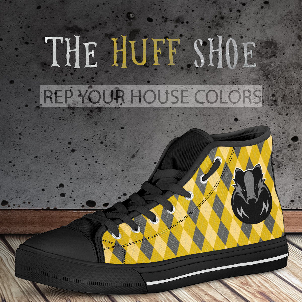 The Huff High Top Shoe