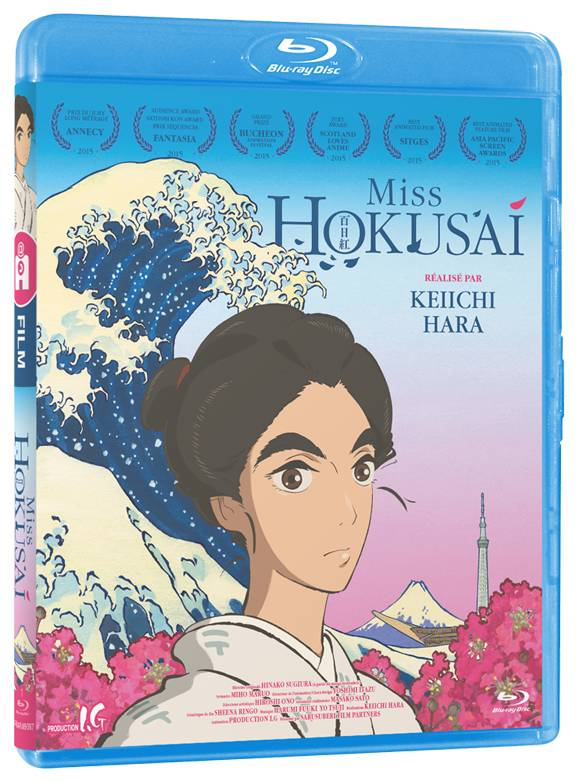 MISS HOKUSAI - Film - Blu-Ray