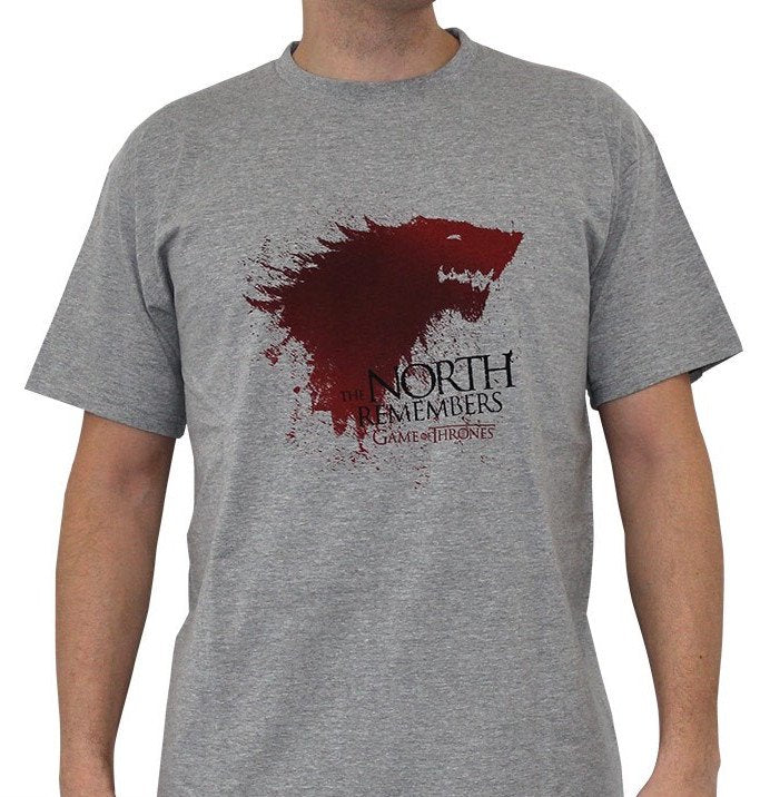 GAME OF THRONES - T-Shirt The North ... Homme (S)