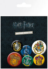 Charger l'image dans la galerie, HARRY POTTER - Pack 6 Badges - Crests