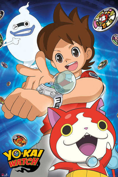 YO-KAI WATCH - Poster 61X91 - Trio