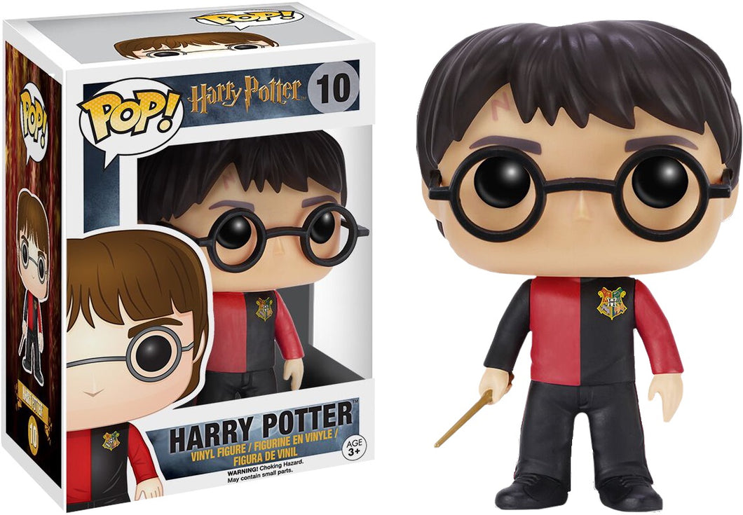 HARRY POTTER - Bobble Head POP N° 10 - Triwizard Harry Potter