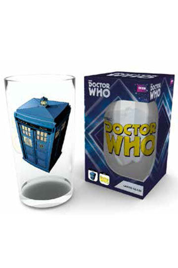 DOCTOR WHO - Large Glasses 500ml - Tardis