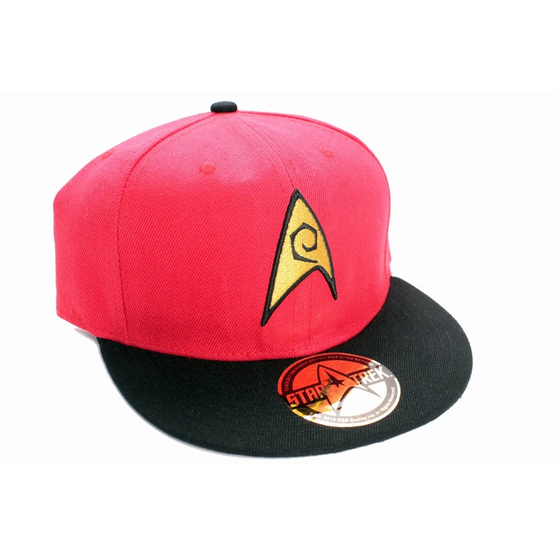 STAR TREK - Casquette Logo - Red
