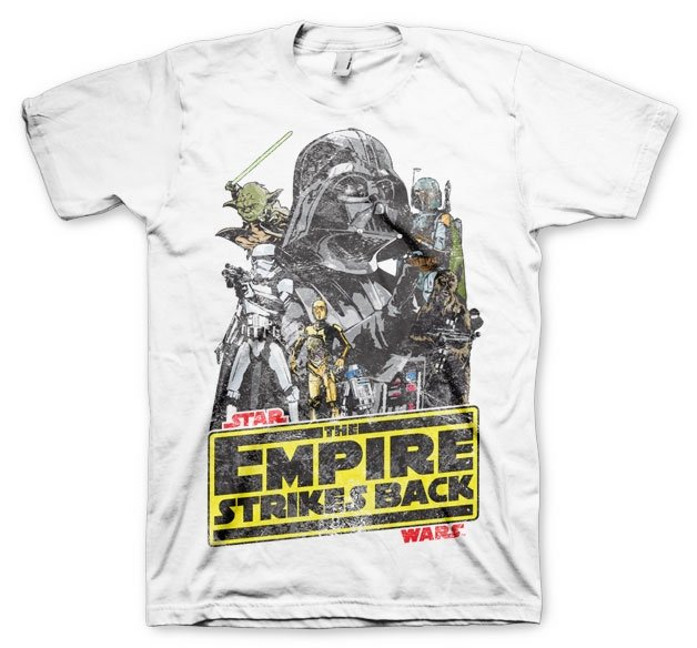 STAR WARS - T-Shirt The Empires Strike Back (XL)